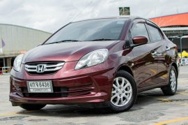 ปี 2013 Honda BRIO 1.2 Amaze V รถเก๋ง 4 ประตู รถสภาพดี มีประกัน