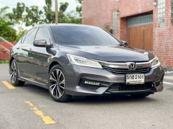 2017 Honda ACCORD 2.0 Hybrid TECH i-VTEC รถเก๋ง 4 ประตู ฟรีดาวน์