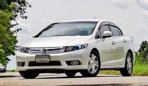 2013 Honda CIVIC 1.5 Hybrid รถเก๋ง 4 ประตู รถสวย