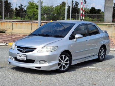 2008 Honda CITY 1.5 V i-VTEC รถเก๋ง 4 ประตู รถสวย